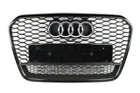 4G0853653H/J Original Audi RS6 4G (A6) Wabengrill Carbon Quattro Kühlergrill