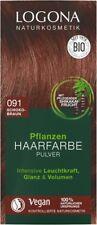 Logona pflanzen-haarfarbe Polvo 091 marrón chocolate 100g