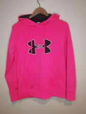 Under Armour ladies hoodie neon pink size s-M