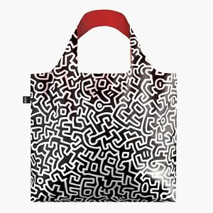 LOQI Tote Hand Bag Keith Haring Untitled Large Shopping, College, Great Gift