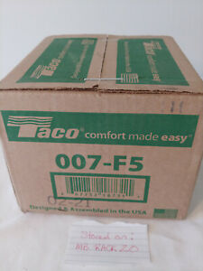 Taco Model 007 (007-F5) Cast Iron Cartridge Circulator Pump - 1/25 HP