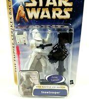 Hasbro Star Wars ESB Battle of Hoth Snowtrooper Action Figure 2003 Sealed