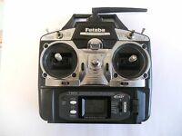 FUTABA T6EX 2.4GHZ FASST 6 CHANNEL TRANSMITTER GOOD CONDITION + BATTERY+ MANUAL