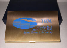 IBM MEMORABILIA CALCULATOR FROM IBM HCI/OI ITLs,MAY 17-20,1993, SANTA TERESA LAB