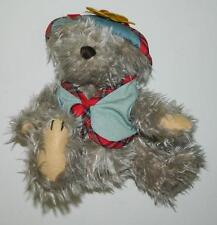 "Brass Button Bears 1996 9"" Blossom Bear Of Wealth Plush Stuffed Animal"