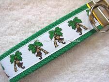 PALM TREE MONKEY-GREEN Key Fobs (really cute keychains)
