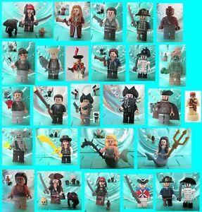 LEGO® Fluch der Karibik Pirates of the Caribbean Figuren Figures - wählen: Neu !