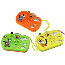 1 STÜCK Kinder Multi Farbe Tiermuster LED-Licht Projektion Kamera Fotoapparat