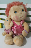Hugga Bunch KENNER PINK CURLS BABY AND BRACELET! 1985 80S TOY
