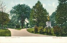 HARTFORD CT – Bushnell Park Scene – udb (pre 1908)