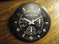 Michael Kors Multi Dial Designer Watch Advertisement Pocket Lipstick Mirror
