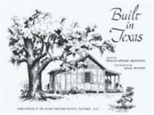 Built in Texas (Publications of the Texas Folklore Society)-ExLibrary