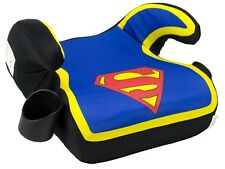 Superman Backless Booster Car Seat Safety Belt Baby Toddler comfort Travel Chair