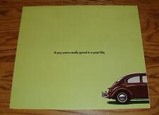 Original 1999 Volkswagen VW New Beetle Foldout Sales Brochure Large Poster 99