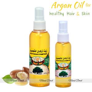 Argan Oil Moroccan 100% Pure Organic Hair Skin Body AntiAgeing Dryness Treatment