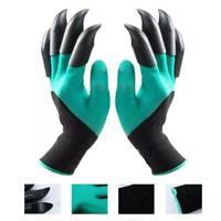 1 Pair Garden Genie Gloves with Claw Waterproof Gardening