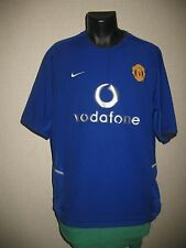 maillot MANCHESTER UNITED 2002-2003 THIRD   shirt maglia camiseta jersey