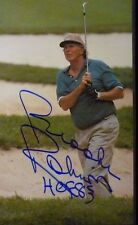 Baltimore O's HOF Member Brooks Robinson Auto Golf Photo Magazine page Signed