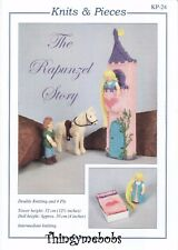 The Rapunzel Story Toy Knitting Pattern Dolls Horse Tower Knits & Pieces 24