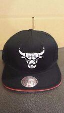 Mitchell & Ness Chicago Bulls Black 1990 Jordan 5 Reflective Underbrim Snapback