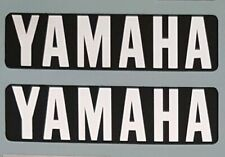 YAMAHA RD125 RD200 ENGINE CASING DECALS 1 PAIR 74mm x 19mm