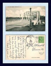 NORTH CAROLINA GREENVILLE RED RIVER BRIDGE 1939 JOHN RAWSDELL, GLOVERSVILLE NY