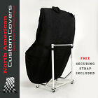MG F & MG TF Hard Top Custom-Fit Cover and Hardtop Stand Cart Carrier 004050