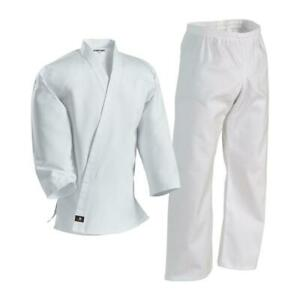 Century White 7oz Middleweight Martial Arts Uniform Gi Size 000