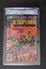 MARVEL SPOTLIGHT #7 STARLORD 1980 Guardians of Galaxy Frank MILLER CGC VF/NM 9.0
