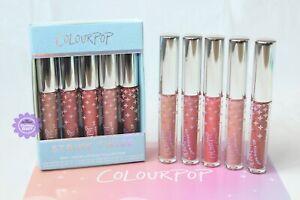 ColourPop Strike Twice Mini Liquid Lipstick Lip Glosses Kit (5 Mini Lipsticks)