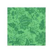 03405 Fancy Floral Kelly Green - Cotton Quarter Yard