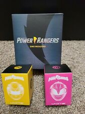 Power Rangers Dino Megazord 4? Figure Sealed NEW +bonus 2 figures yellow&pink