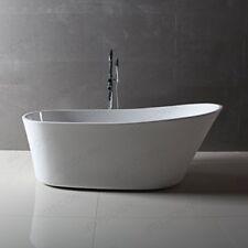 Dyconn Faucet WTM02803-NM Benerento Freestanding Contemporary Acrylic Bathtub