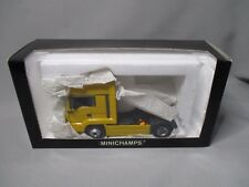 DV7682 MINICHAMPS 1/43 MAN TG-A TRACTOR 18.430 JAUNE DHL Ref ?? NB