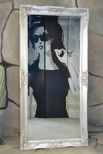 Wandspiegel Badspiegel Spiegel 120 x 60 cm barock antik Landhaus pompös rokoko