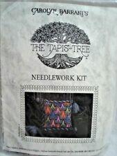 The Tapis-Tree Bargello Needlework Kit Jewel Toned Spires NIP Carolyn Barrani