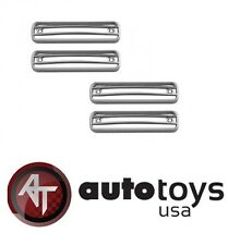 2002-2011 Hummer H2 Chrome Side Lamp Cover Trims 4-Piece SET