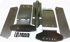 PP Stainless Steel Body Guard Chassis Plate for Traxxas X-Maxx 6S Big Foot Truck