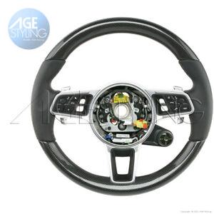 Porsche PANAMERA 971 E-Hybrid Carbon Fiber Steering Wheel w EHSS+ Mode Switch16+