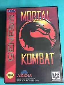 Mortal Kombat (Sega Genesis, 1993) Complete
