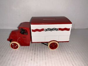 Ertel Caterpillar Replica 1926 Mack Delivery Truck Die Cast Coin Bank 1/25 scale