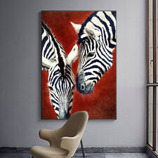 Animal Zebra Wall Art Canvas Poster Nordic Print Modern Home Decoration Picture
