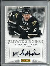 Mike Modano 13/14 Panini Private Signings Autograph #06/15
