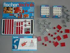 3 x FISCHER TECHNIK / Mot. 2 - Getriebe (30092) +  01 (30001) + weiteres Zubehör