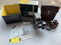 Vintage Bell and Howell Model Two Fifty Two / 252 8mm Film Movie Camera w/ Case