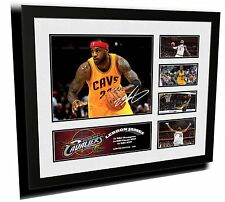 LEBRON JAMES CLEVELAND CAVALIERS SIGNED LIMITED EDITION FRAMED MEMORABILIA