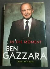 Ben Gazzara Signed Book Autographed In This Moment Hardcover JSA