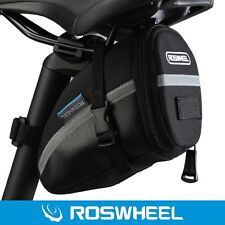 Roswheel PVC Cycling Bike Saddle Pannier Seat Bag Tail Rear Pouch Storage Pack