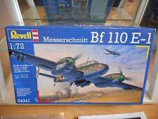 Modelkit Revell Messerschmitt BF 110 E-1 on 1:72 in Box