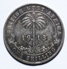 1913 British West Africa One 1 Shilling - George V - Lot 1373